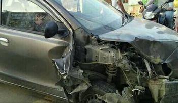विराटनगरमा दुर्घटना, दुईजना घाईते